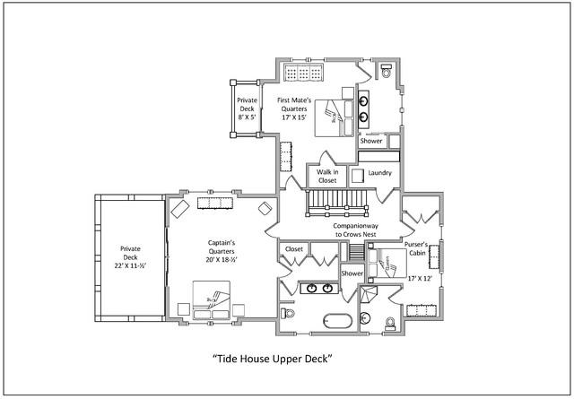 2017 05 24 Tide House Floor Plan Upper Deck