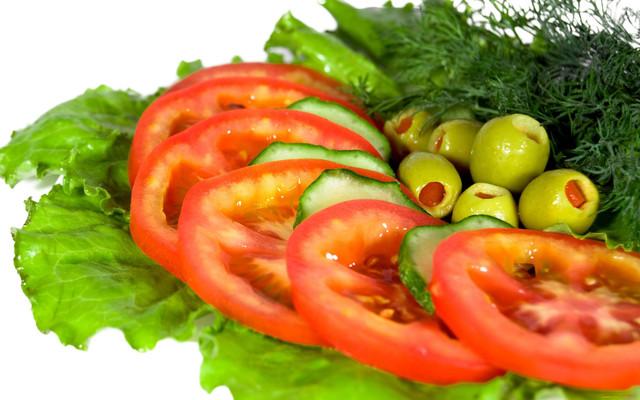 рецепты простых овощных салатов без майонеза