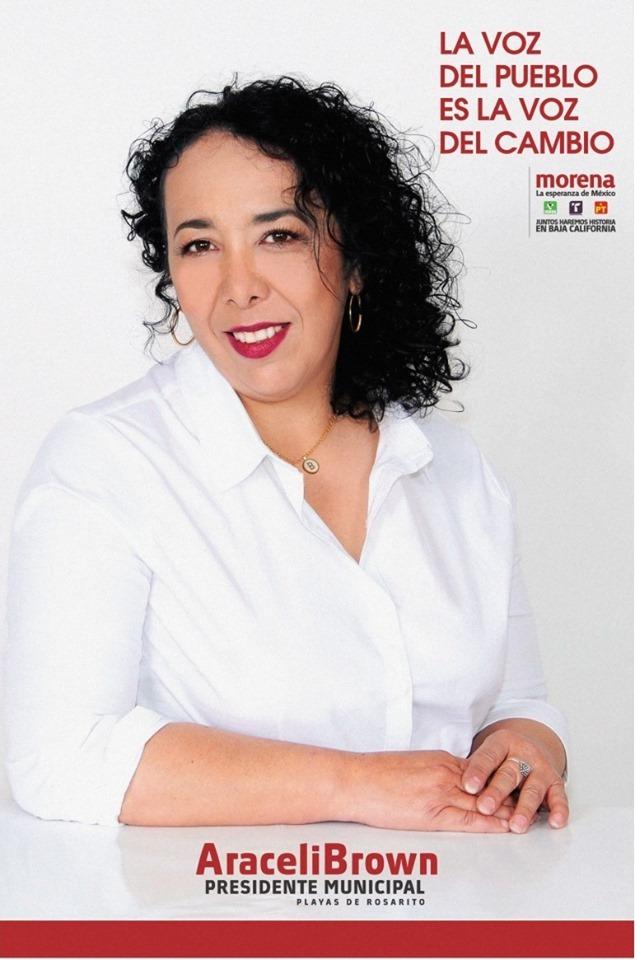 Presidente Municipal Mirna Ricon Vargas