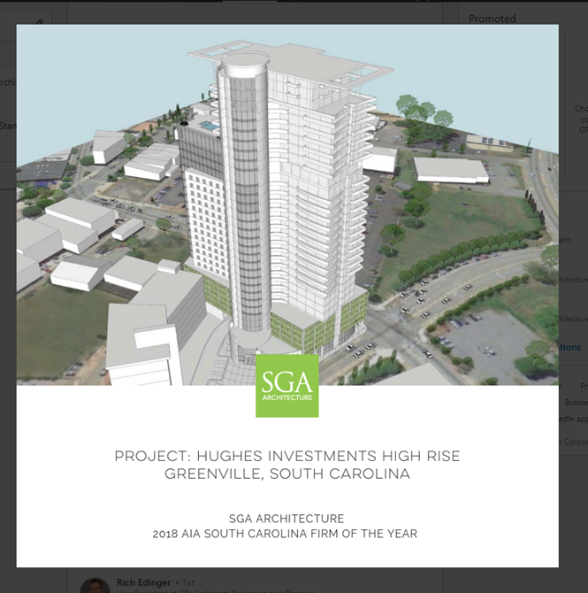 Apartments In Easley Sc: New State's Tallest Highrise Proposed For Downtown