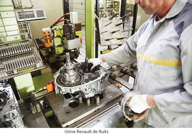 Renault Group signe un accord social et crée Renault ElectriCity: le pôle industriel électrique du nord de la France Usine-Renault-de-Ruitz