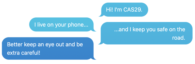 CAS29 text conversation