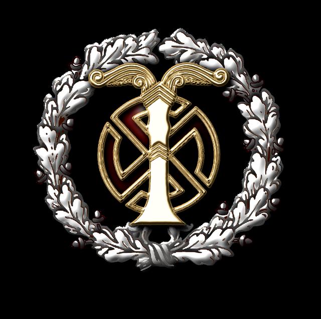 Брэдли Любящий. Большая рыба для жарки  13-24 Ahnenerbe-emblem-silver-wreath