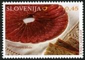 Slovenia stamps GASTRO-2008