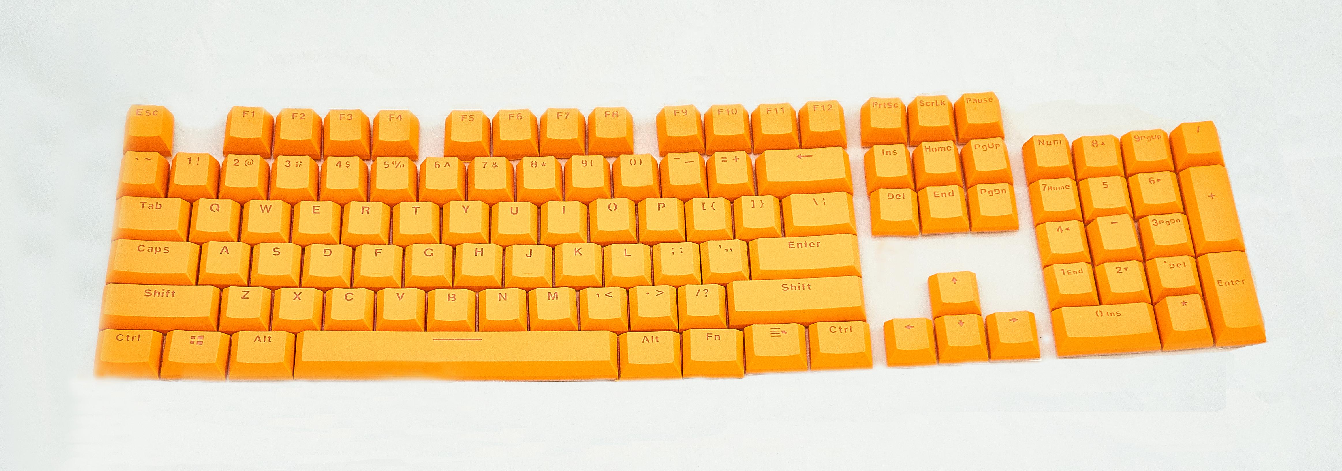 Keycap Amarelo Tecla para Teclado Mecânico