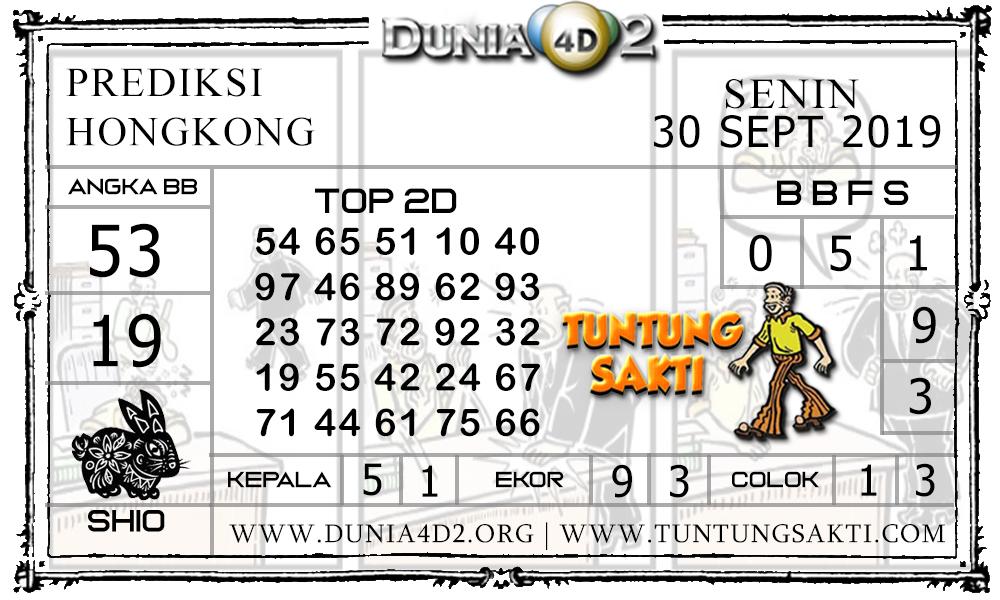"Prediksi Togel ""HONGKONG"" DUNIA4D2 30 SEPTEMBER 2019"