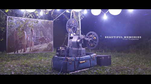 Beautiful Memories - Film Projector 22717188 - Project for After Effects (Videohive)