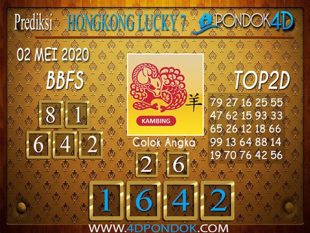 Prediksi Togel HONGKONG LUCKY 7 PONDOK4D 02 MEI 2020