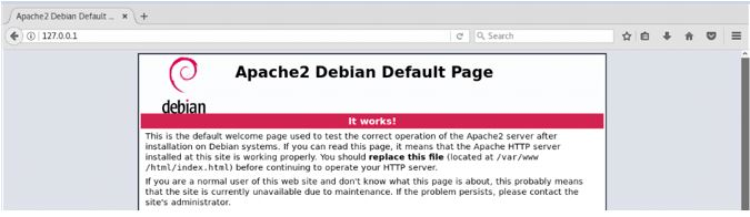 Apache webserver works