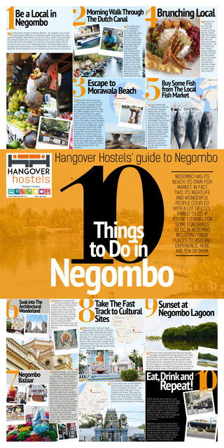 Hangover Hostels guide to Negombo NEW 1