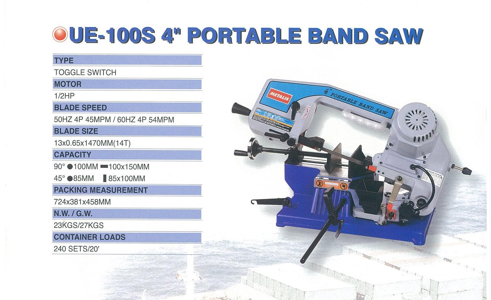 mesin portable bansaw ue-100s