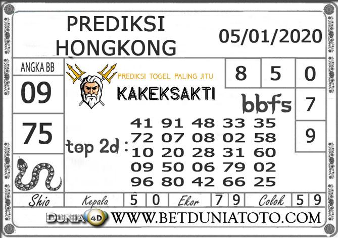 Prediksi Togel HONGKONG DUNIA4D 05 JANUARI 2020