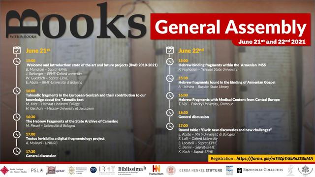 BwB General Assembly 2021 - Program