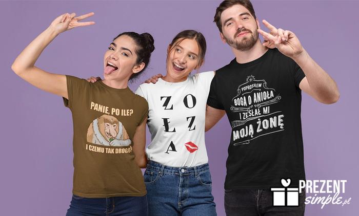 Śmieszne koszulki