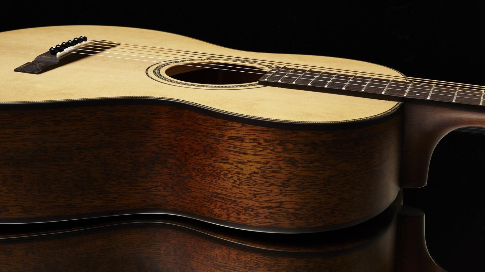 cuerpo de la guitarra - partes de la guitarra