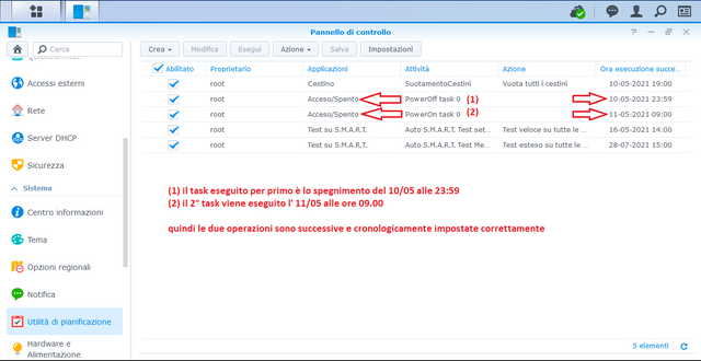 Fritz!Box 7590 > Synology NAS DS918+ : impossibile attivare WOL su LAN 3