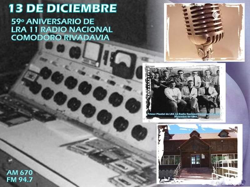 59° Aniversario de Radio Nacional Comodoro Rivadavia