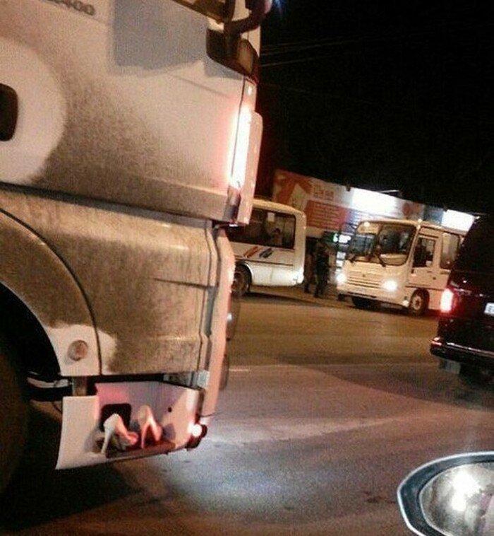 И что бы ни говорили про дальнобойщиков, но они очень гостеприимные люди truck, грузовики, дальнобойщики, подборка, прикол, юмор