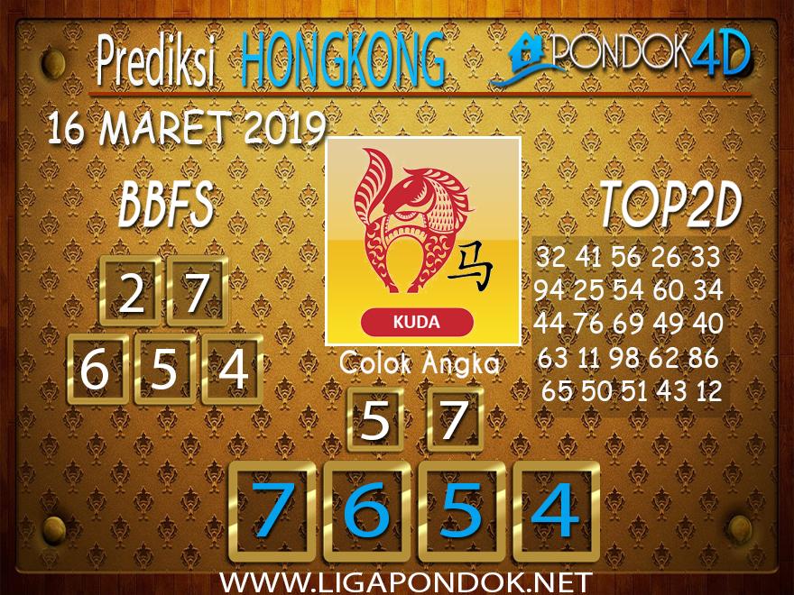 Prediksi Togel  HONGKONG  PONDOK4D 16 MARET 2019
