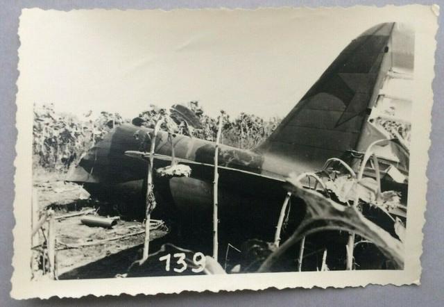 Foto-Wehrmacht-Flugzeug-Absturz-airplane-crash-russia-ww2