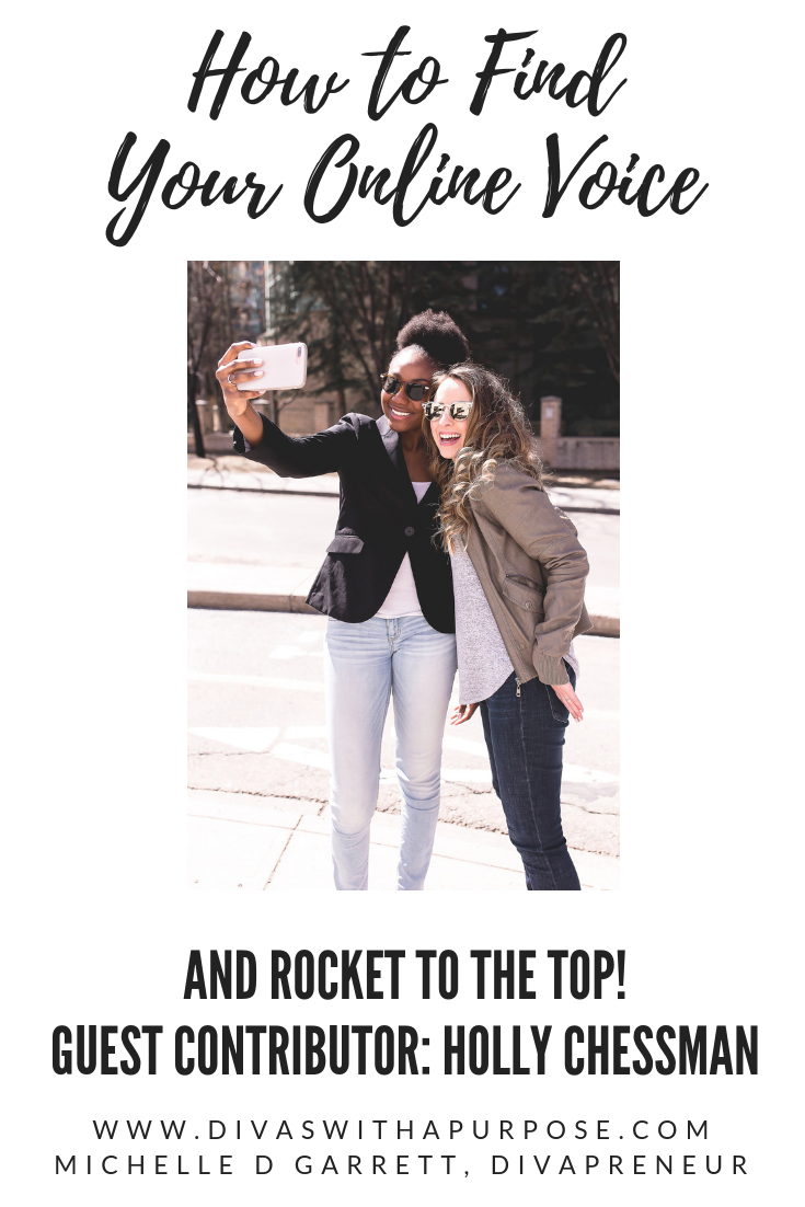 How to Find Your Online Voice and Rocket to the Top!
