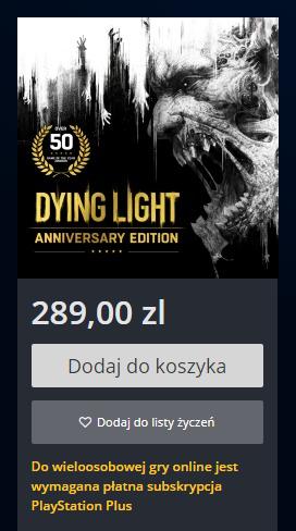 Cena w polskim PS Store