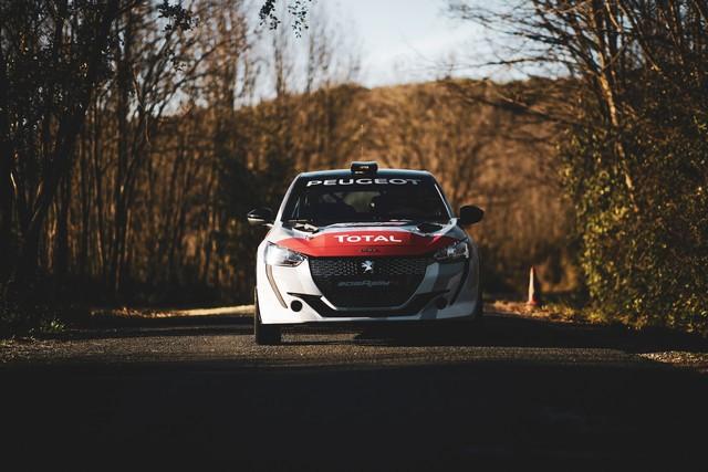 La 208 Rally Cup Fait Ses Débuts Au Mont-Blanc Avec La Nouvelle 208 Rally 4 ! 3-3
