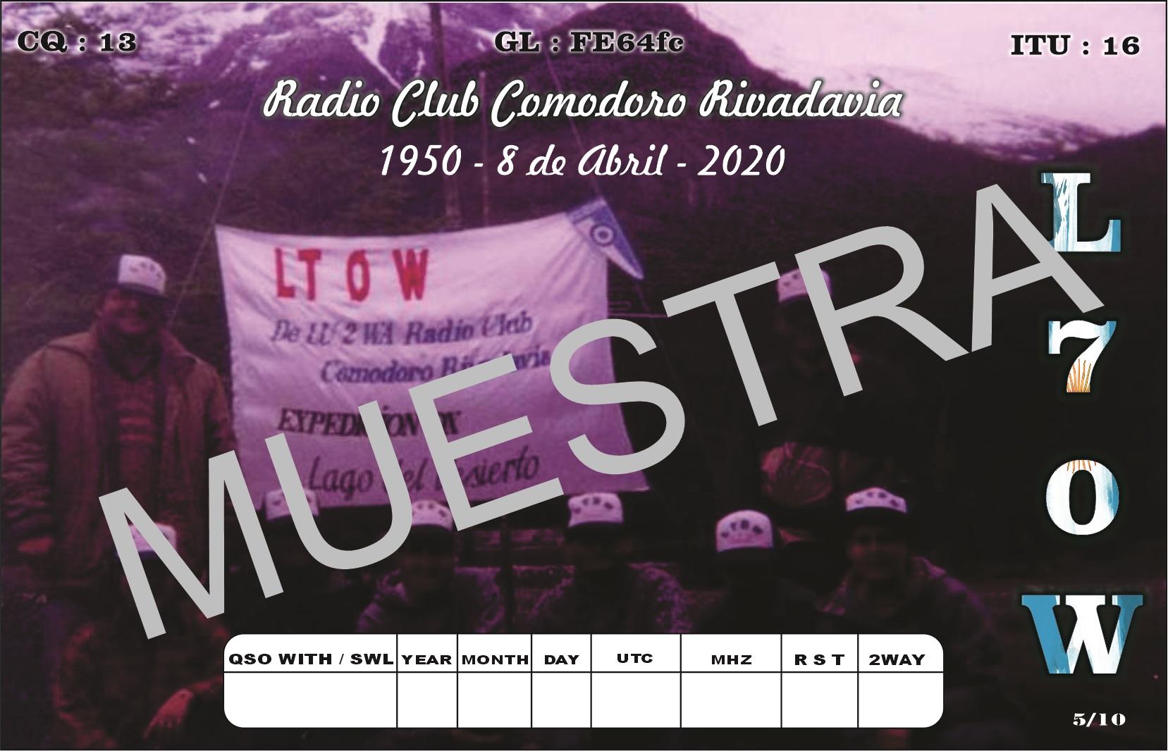 LU2 WA Muestra 5 - L70W