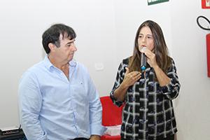 Líderes Vitor Martins e Josi Signori