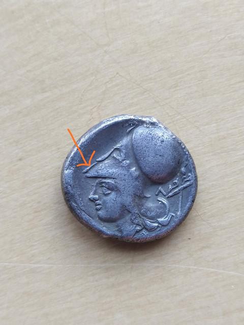 Estatera de Leukas (Corintio). 400-330 a.C. IMG-20201031-WA0009