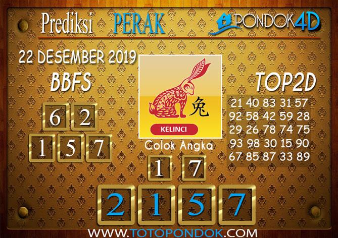Prediksi Togel PERAK PONDOK4D 22 DESEMBER 2019