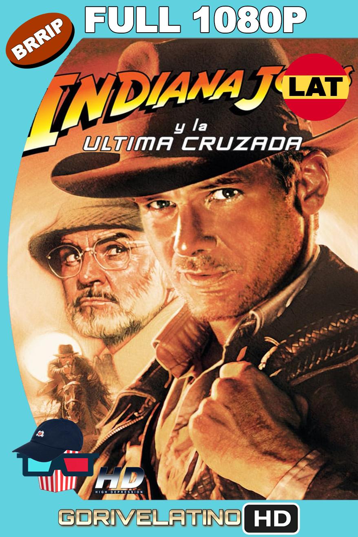 Indiana Jones 3: La Última Cruzada (1989) BRRip 1080p latino-ingles MKV