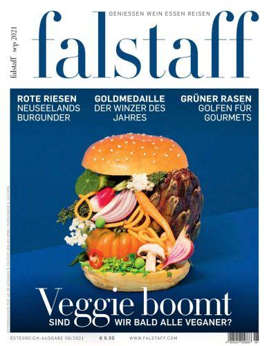 Cover: Falstaff Magazin Geniessen, Essen, Reisen No 09 September 2021