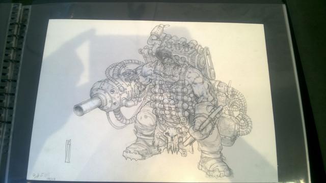 Galerie Daniel Maghen [originaux Warhammer Battle & 40K] 34
