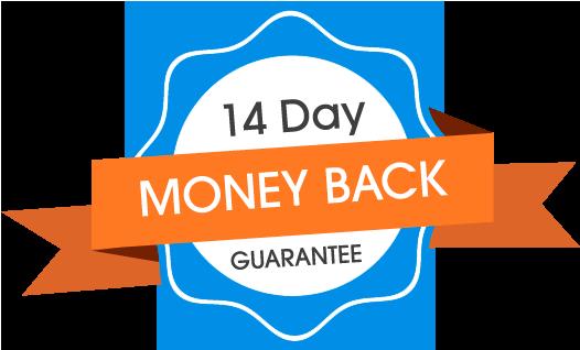 14-day money back guarantee