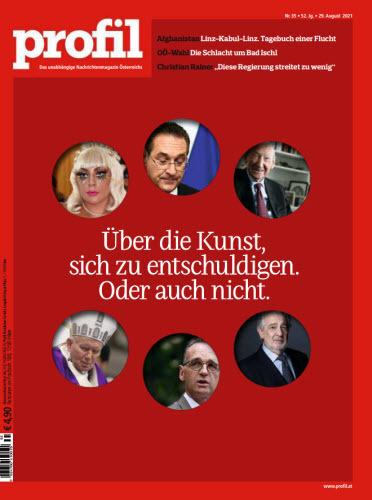 Cover: Profil Nachrichtenmagazin No 35 vom 29  August 2021