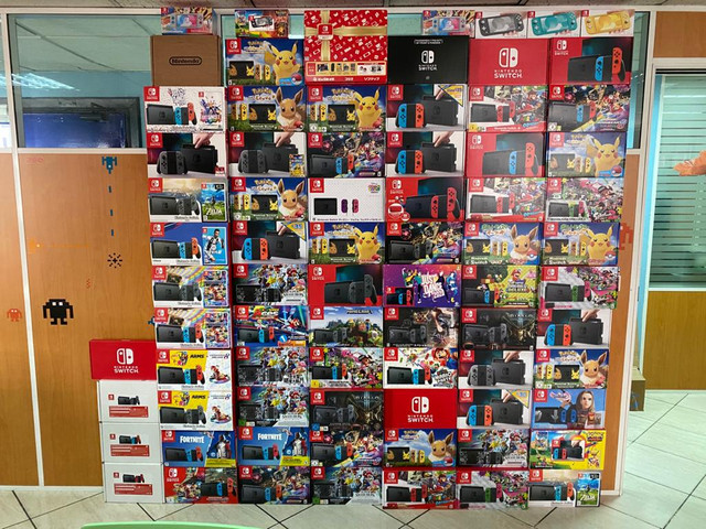 Les différents pack Switch Collection