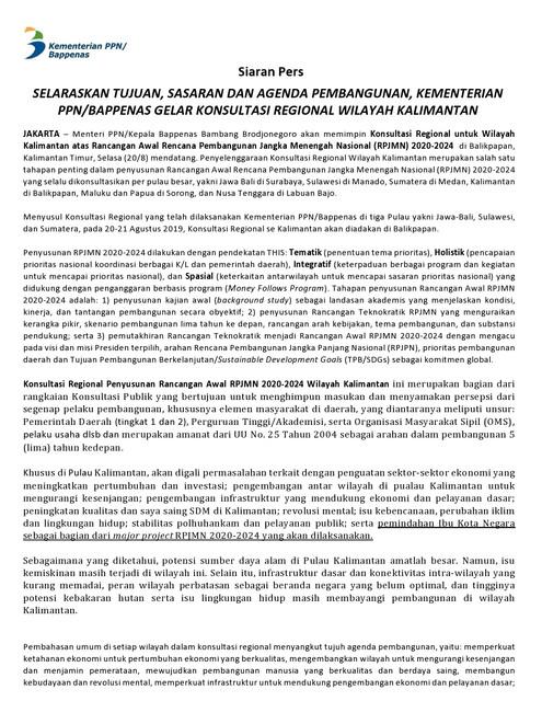 FINAL-Siaran-Pers-Selaraskan-Tujuan-Sasaran-dan-Agenda-Pembangunan-Kementerian-PPN-Bappenas-Gelar-Konsultasi-Regional-Wilayah-Kalimantan-page0001