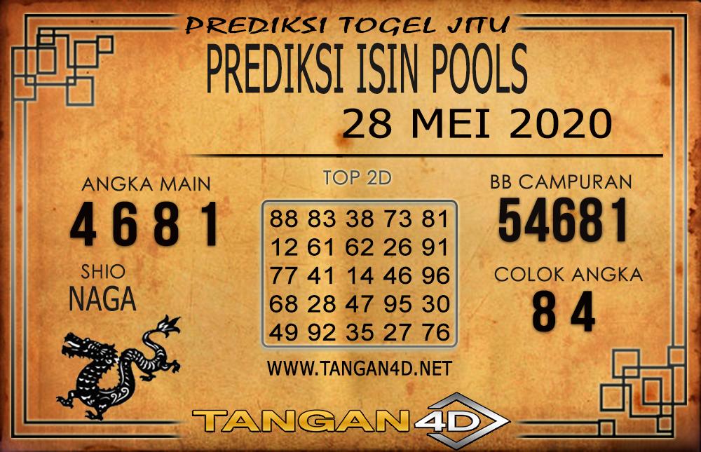 PREDIKSI TOGEL ISIN TANGAN4D 28 MEI 2020
