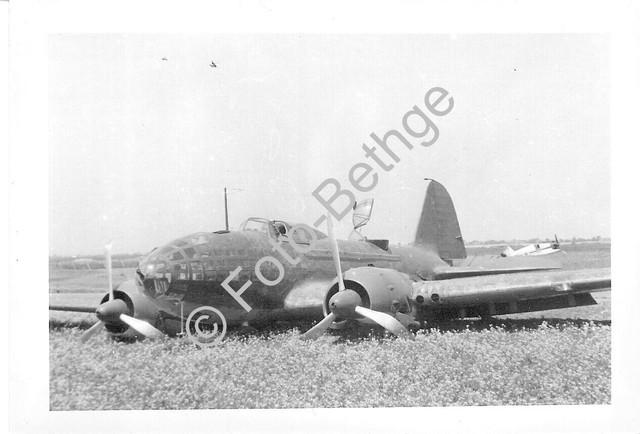 Flugzeug-Martin-Bomber-Bergung-Notlandung-Ostfront