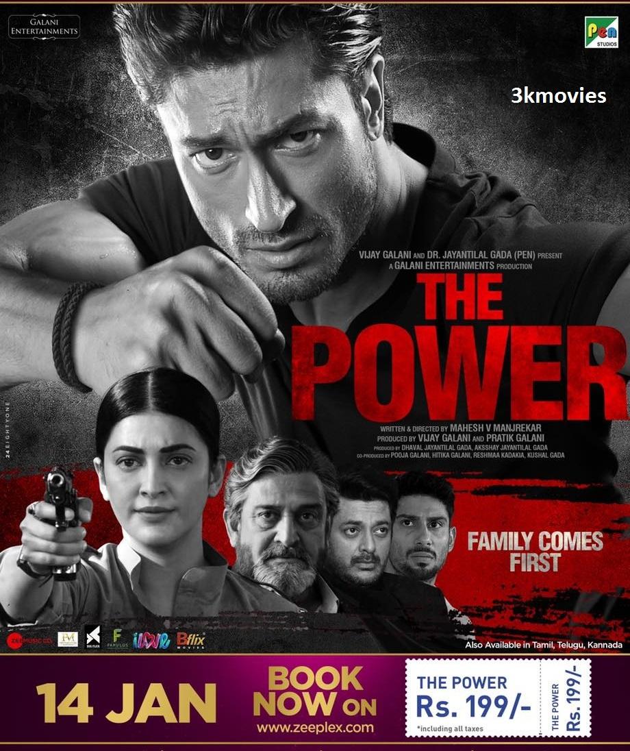 The Power (2021) Hindi 1080p HDRip x264 AAC 1.7GB ESub