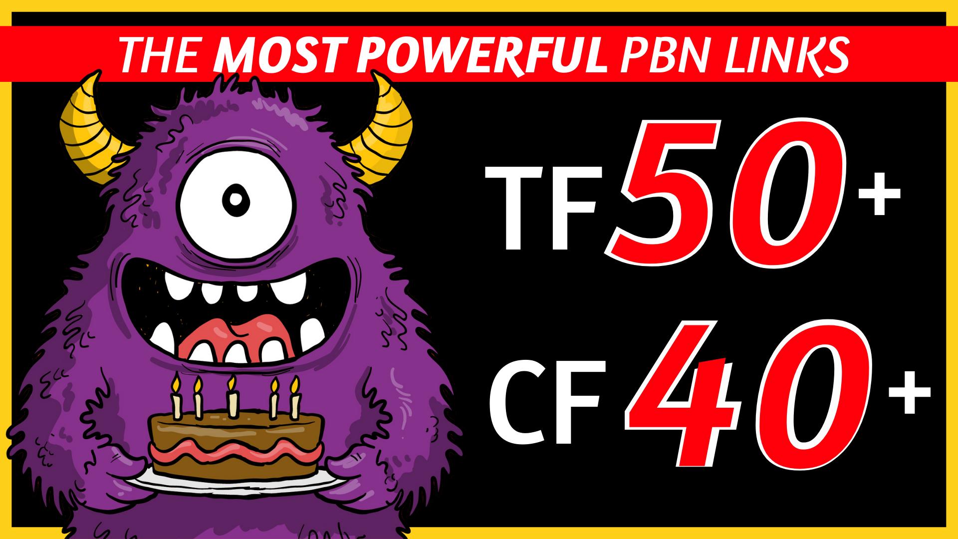 monster pbn lins