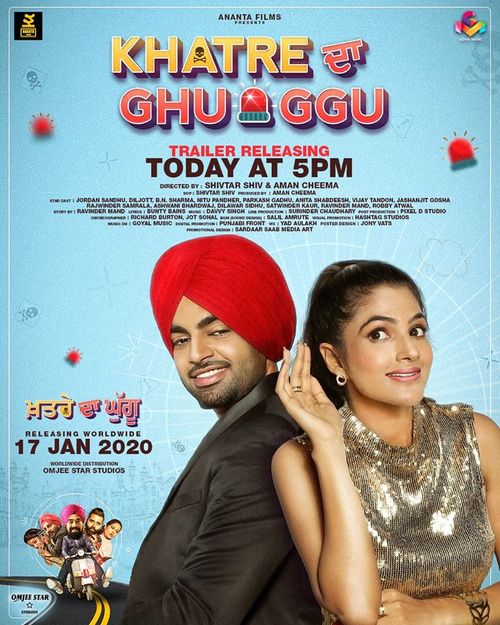 Khatre Da Ghuggu (2020) Punjabi 480p HDRip x264 AAC 400MB Download