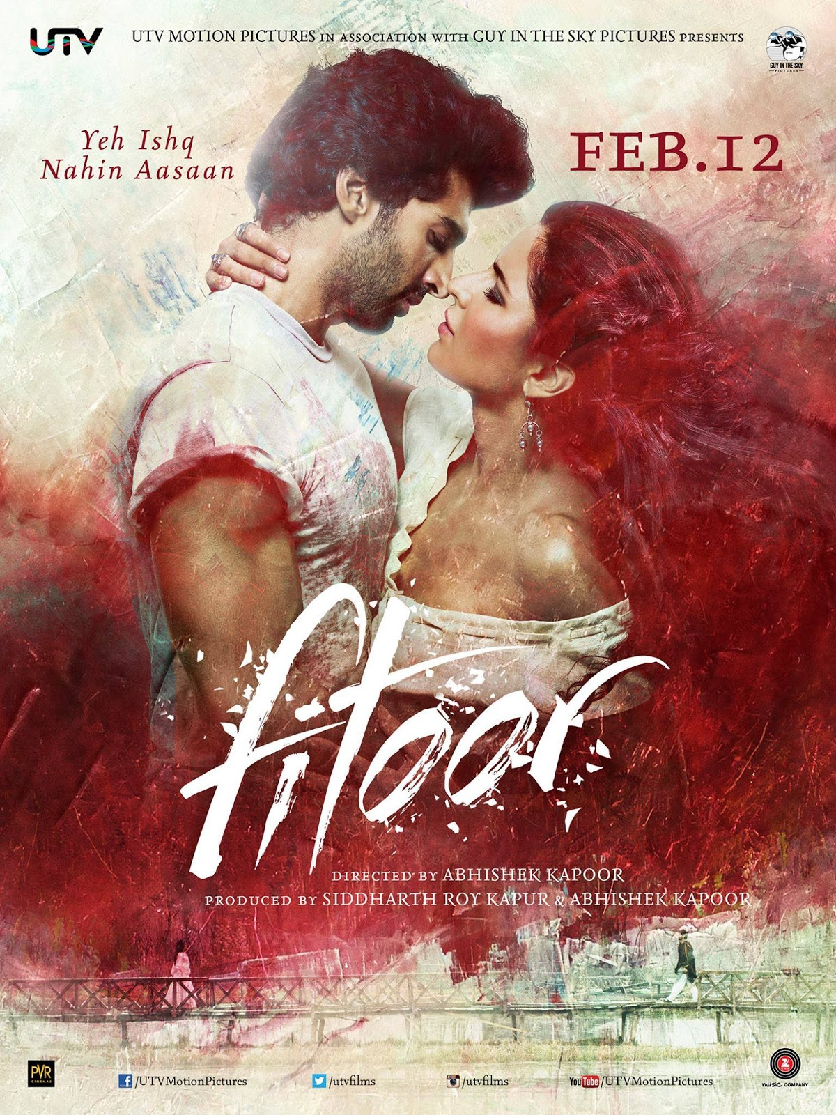 Fitoor (2016) Hindi 480p WEB-DL x264 AAC 350MB ESub
