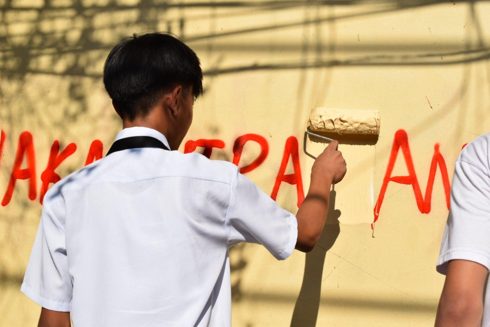 Photo of Yorme Isko Moreno nagpasalamat sa mga Batang Estudyante bumura sa mga Vandalismo