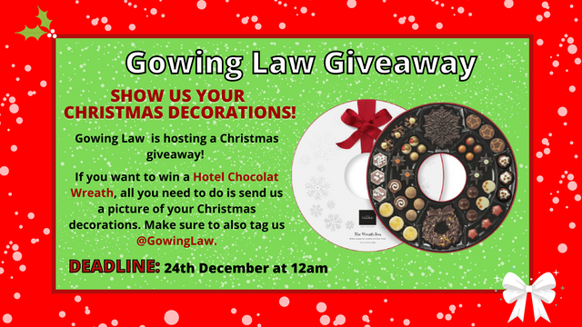 Christmas Decorations Giveaway