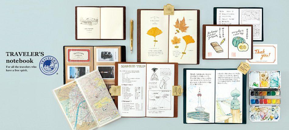 Vendita Midori Traveler's Notebook in Italia, a Roma ed online.