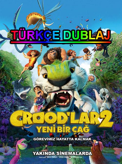 Crood'lar 2: Yeni Bir Çağ | 2021 | WEB-DL | XviD | Türkçe Dublaj | m720p - m1080p | WEB-DL | Tek Link