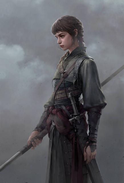 Fantasy-Sci-Fi-Illustrations-featuring-beautiful-women
