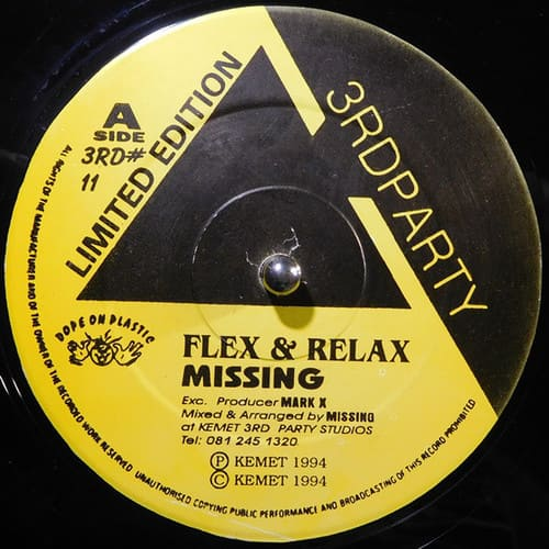 Download Missing - Flex & Relax / Back To Consciousness mp3
